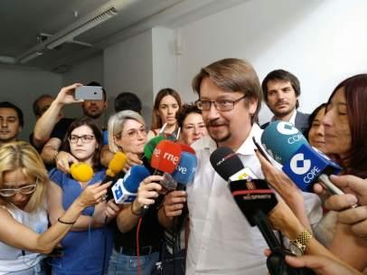 El coordinador general de Catalunya En Comú, Xavier Domènech.