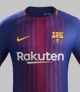 Equipación del Barça para la 2017/18