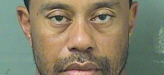 Arrestado el golfista Tiger Woods por conducir borracho