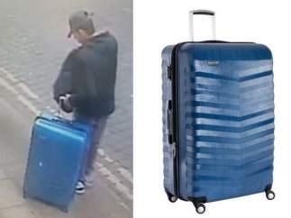 Salman Abedi, autor del atentado de Mánchester, portando una maleta