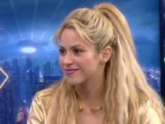 """Shakira, en 'El hormiguero': """"Piqué se emocionó cuando escuchó 'Me enamoré'"""""""