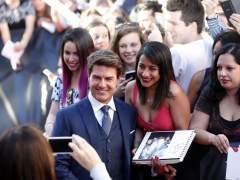 Tom Cruise en Madrid: dos horas de autógrafos