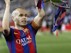 Iniesta, baja en el Bernabéu por una contusión en el muslo