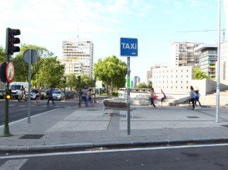 Parada sin taxis
