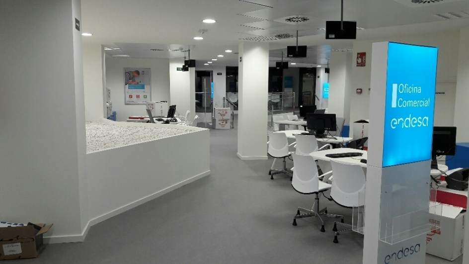Endesa suma una nueva oficina en avenida alemania a los for Oficina nacional de deportes