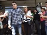 Belén Esteban a la salida del juzgado