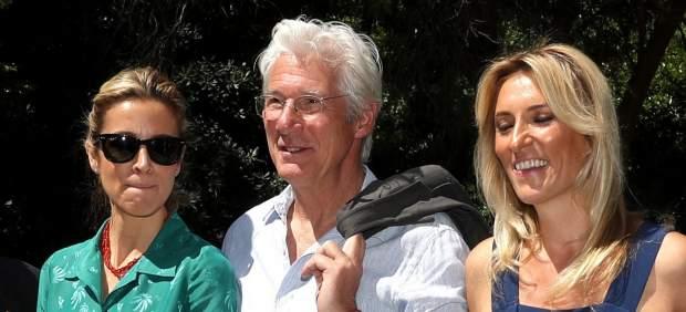 Richard Gere, su pareja, Alejandra Silva