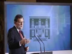Rajoy anuncia un recurso ante el TC contra la reforma para la ruptura de Cataluña