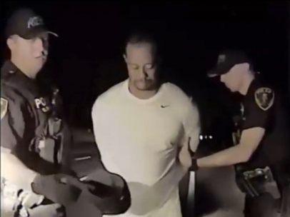 Detención de Tiger Woods