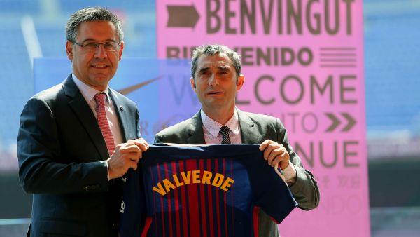 """""""Valverde, benvingut al Barça"""""""