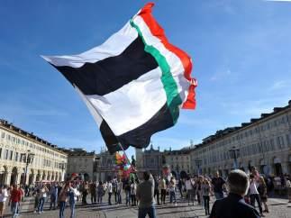 Afición Juventus en Turín