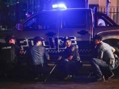 Humareda en el complejo de ocio atacado en Manila (Filipinas)
