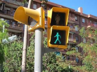Semáforo de peatones.