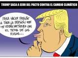 La cortina de humo de Trump