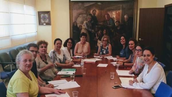 Participantes en la Mesa de Igualdad