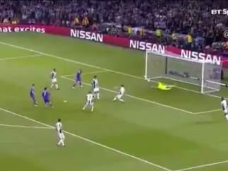 Gol de Cristiano (0-1) ante la Juventus en la final de Champions 2017.