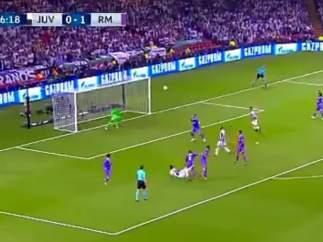 Gol de Mandzukic (1-1) en la final de Champions 2017.