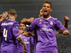 Cristiano celebra el 0-1