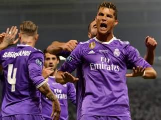 Gol en la final de la Champions