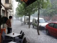 En alerta 26 provincias por tormentas, granizo y altas temperaturas en media España