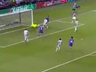 Cristiano Ronado marca el 1-3 ante la Juve en la final de Champions 2017.