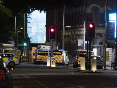 ¡Policía en el London Bridge