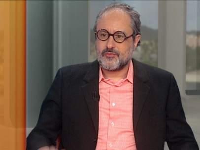 Antonio Baños en el plató del 324.