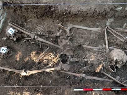 Exhumación en Navarra
