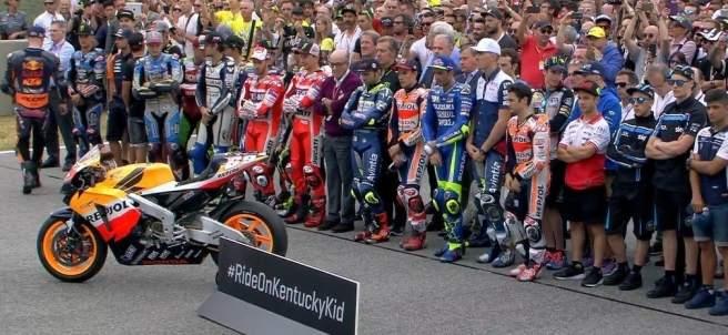Homenaje Nicky Hayden Italia