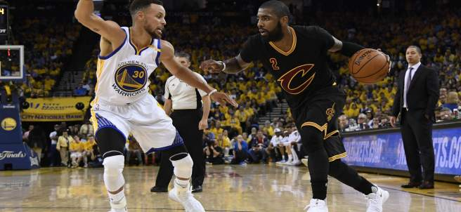 Stephen Curry Golden State Warriors Cleveland Cavaliers Kyrie Irving