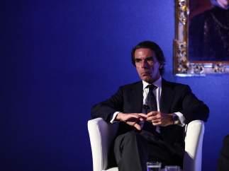 José María Aznar en la apertura de la II Semana Atlántica