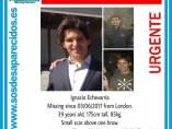 El español desaparecido tras los atentados de Londres