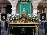 Altar montado por la Vera Cruz de Valladolid.