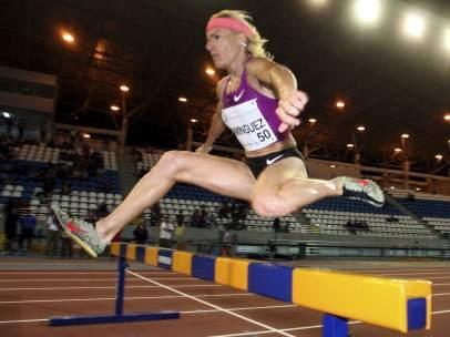 La Atleta Marta Domínguez .