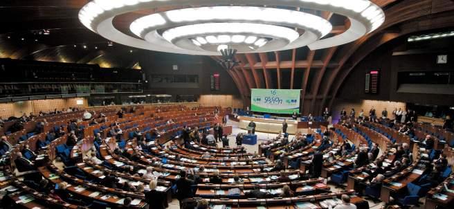 Pleno del Consejo de Europa