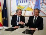 Fomento y Cultura firman el convenio para invertir en Patrimonio Histórico.
