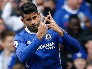 Diego Costa con el Chelsea