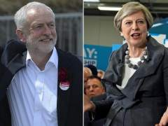Jeremy Corbyn y Theresa May