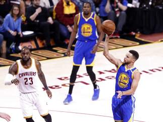 Curry ante LeBron