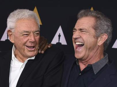 Danny Glover, Richard Donner y Mel Gibson