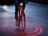 Sistema de protección visual para ciclistas