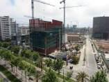 Barrio del 22@ de Barcelona, en el Poblenou. Cluster tecnológico de la ciudad.