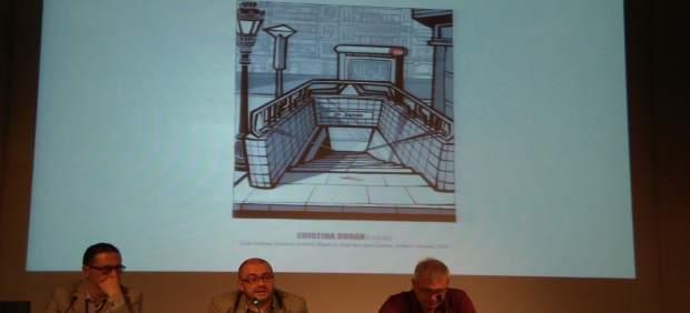 Una de las viñetas en primicia recuerda el accidente de metro de 2006