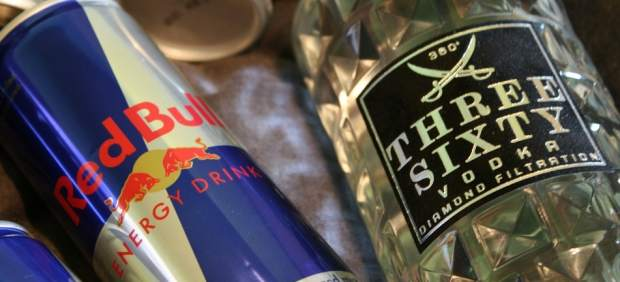 Vodka y Red Bull