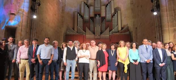 Gala de los certámenes literarios de la Diputación de Cáceres