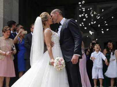 Víctor Valdés y Yolanda Cardena se casan