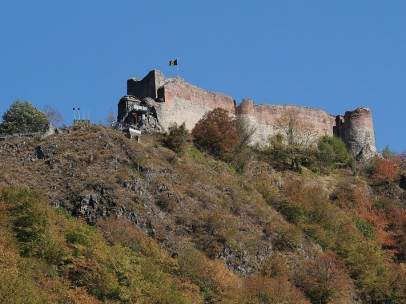 Castillo de Poenari (Rumanía)
