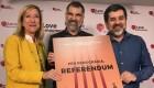 """El Govern llama """"presos políticos"""" a Cuixart y Sánchez"""