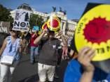 Manifestación contra las nucleares