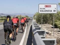Atropello mortal a un ciclista en Oliva